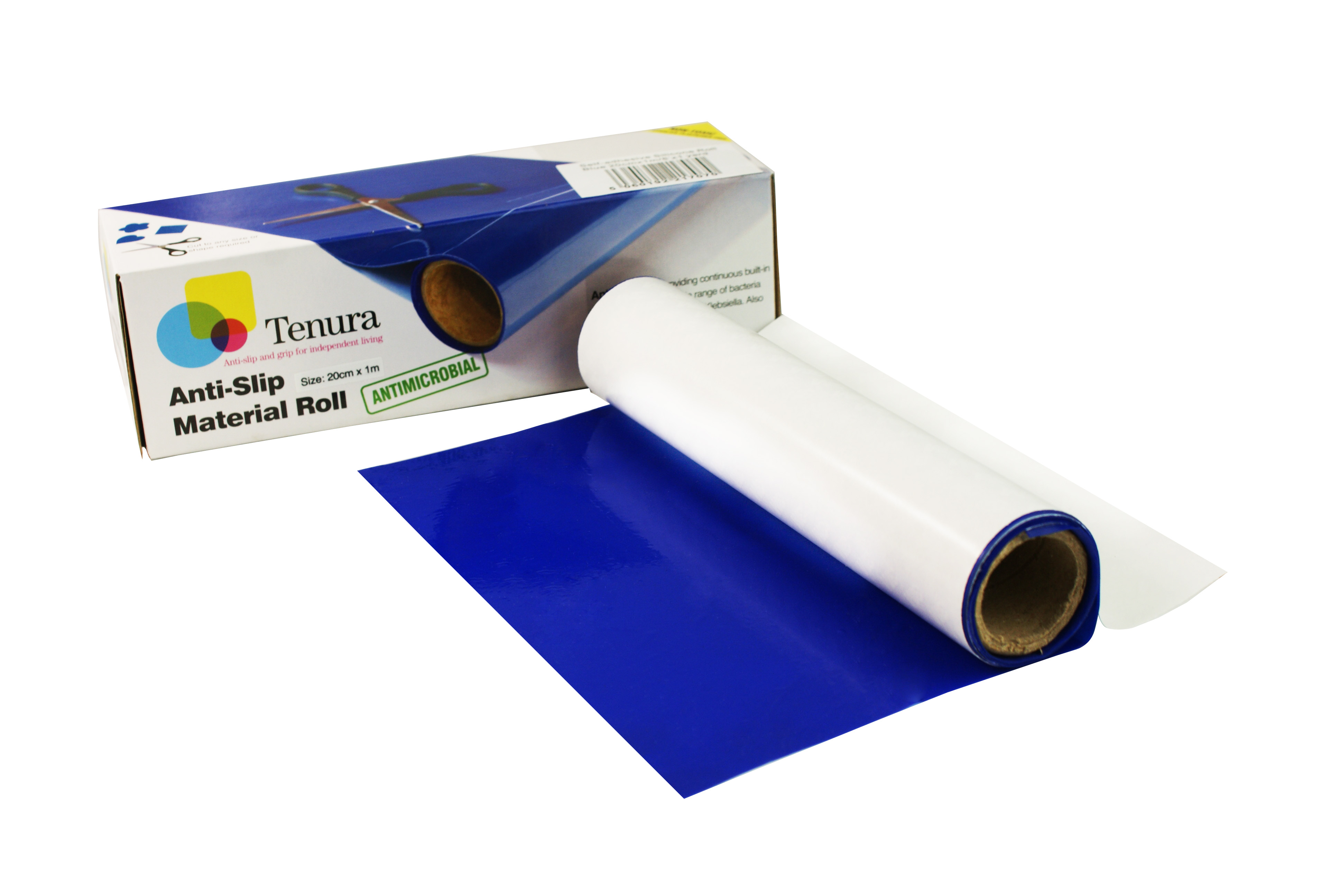 Tenura self adhesive non slip silicone reels are now available