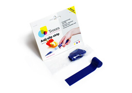 Tenura Blue Silicone Anti-Slip Grip Strips
